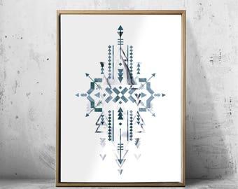 Scandinavian Art, Geometric Art, Geometric Print, Abstract Prints, Minimalist Poster, Wall Decor, Modern Home Decor, Geometric Abstract
