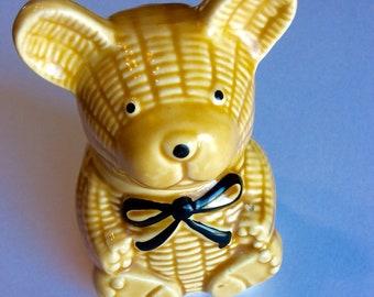 Vintage honey bear honey cup