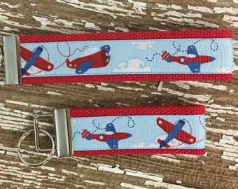 Airplane Keychain Pilot Keychain Gift for Pilot Gift for Airplane Lover Come Fly Away keychain Cesna Keychain Glider keychain Gifts for