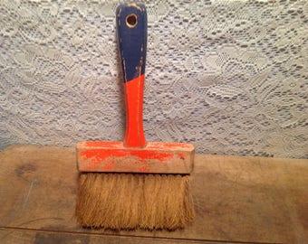 Vintage Wood Handle Whisk Broom