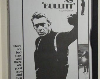 Steve Mcqueen as Bullitt DVD