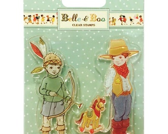Belle and Boo Clear Stamps - Ellis & Easy