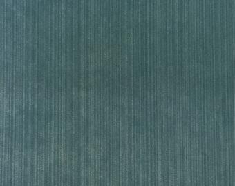Blue Velvet - Richard - Upholstery Fabric by The Yard