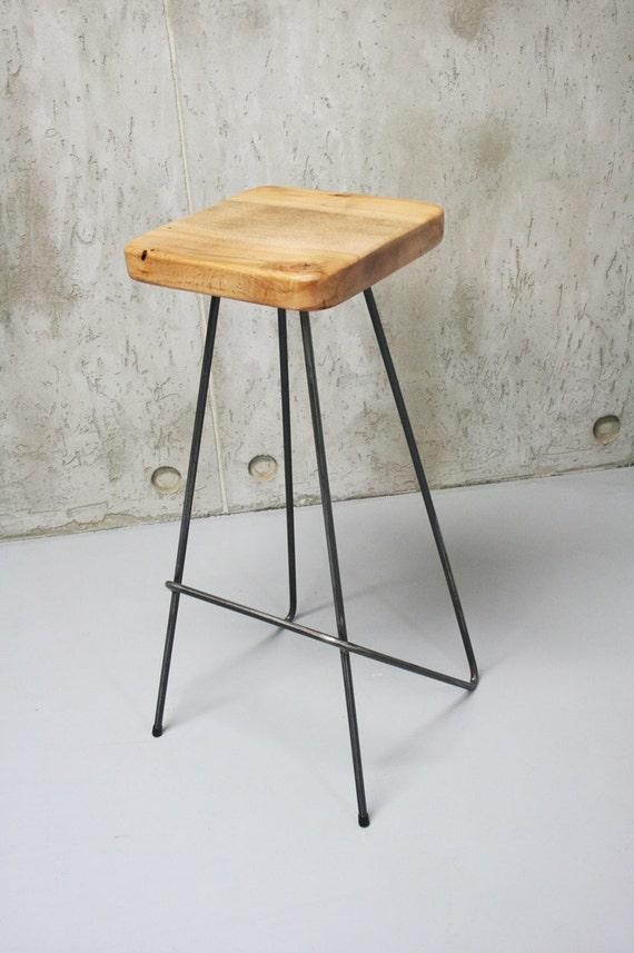 Barhocker Arbeitshocker Küche Stuhl Barhocker reine Eiche