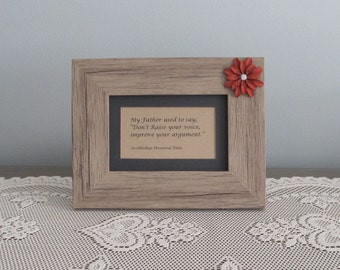 My Father Used To Say Picture Frame