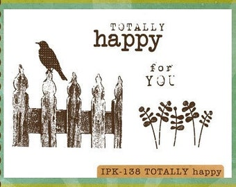 Clearance - Unity -  Ippity Stamps - Totally Happy
