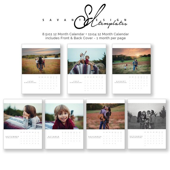 2019 2020 calendars us 2 year calendar photo wall photoshop template 8x11 and 11x14 calendar c150us instant download