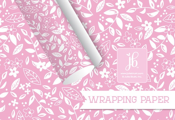 Gift wrapping paper pink floral birthday gift wrap party paper gift wrapping paper pink floral birthday gift wrap party paper pink flowers wrapping paper 20 x 29 wrapping sheet from juliebluet on etsy studio mightylinksfo