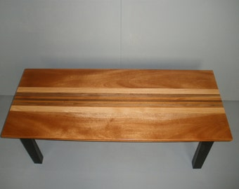 Handcrafted wooden coffee table