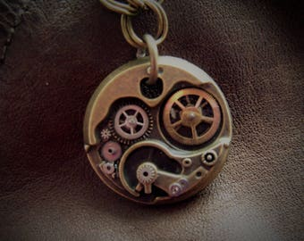 Steampunk Mechanical Necklace