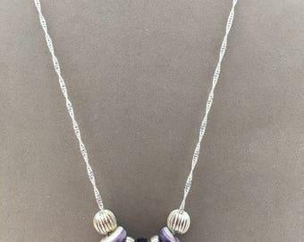 Wampum Beaded Necklace