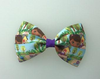 Super Cute Doc McStuffins Hair Bow Clip #2