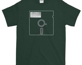 Floppy Disk 3X 4X 5X Short-Sleeve T-Shirt