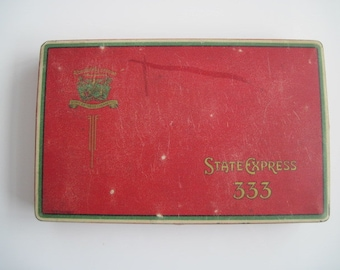 State Express 333 cigarette tin (150/empty) -  c.1930/50