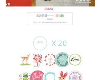 Warm Stickers Pack SM312421