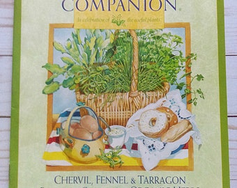 5 Herb Companion Magazines/ Set of 5 Periodicals/ Herb Gardening/ Recipes/ Crafts/ DIY