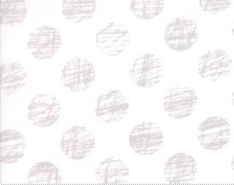Hey Dot by Zen Chic for Moda. Modern low volume quilters cotton. Low volume Fabric