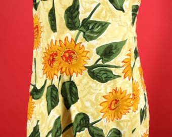 Sunflower Sun Mini Dress Made By Express Strappy