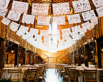 """PAPEL PICADO """"Mexican Wedding"""" 