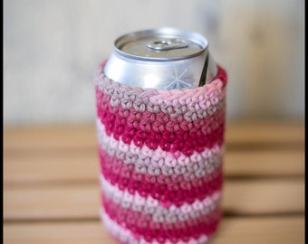 Crocheted Can Cozy