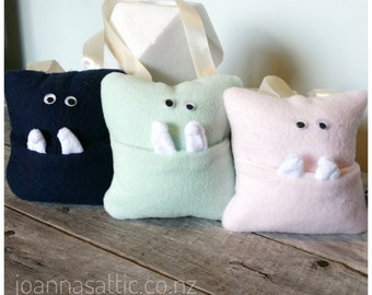 Monster Tooth Fairy Pillow; Tooth Fairy Pillow, Boy Gift, Girl Gift