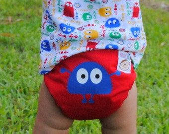 INSTANT DOWNLOAD Cloth Diaper PDF Sewing Pattern Cloth Tots Pocket Diaper Pattern make your own