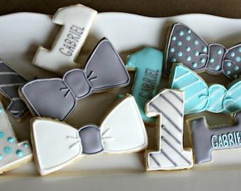 Bow tie Cookies-Little Man Cookies