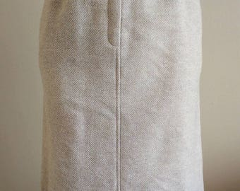 50's Wool Skirt with Pockets by Evan Picone Size 8*