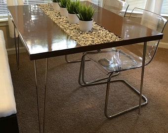 Modern Dining Room Table   4ft (optional Lengths)