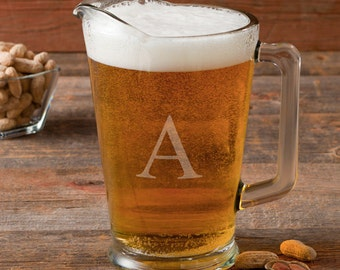 Personalized Glass Beer Pitcher - GC1268