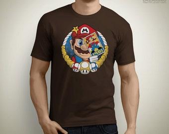 Pixel Card - Super Mario T-Shirt