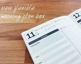 Daily Planner - Traveler's Notebook [Various Sizes]