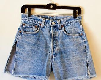 Levis Jean Shorts cut off 501