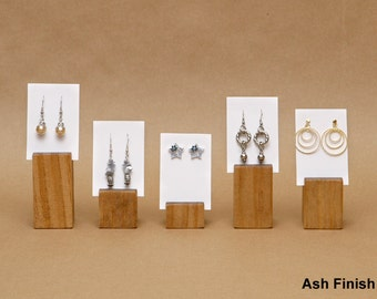 Earring Card Holder Display / Earring Card Riser / Jewelry Card Holder / Sign Holder / Price Tag Holder / Invitation Holder / ER003