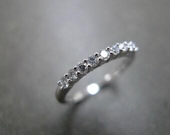 Diamond Ring in Platinum, Diamond Wedding Ring, Diamond Wedding Band Women, Rings, Platinum Wedding Band, Personalized Jewelry, Jewellery