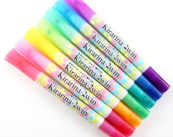 ALMOST FREE with 30 DOLLAR purchase - Kirarina 2WIN scented marker   dual tipped Copic Marker - chisel & fine tip