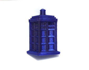 Dr. Who TARDIS Inspired Brooch