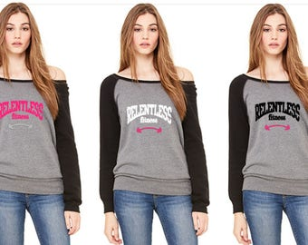 Relentless Team slouchy sweatshirt
