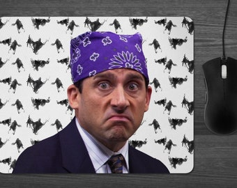 Prison Mike the Office Mouse Pad Dab Mat Michael Scott Dementors best boss ever Dunder Mifflin tv show gifts for silly people
