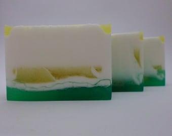 Lemon Myrtle - Handmade Soap, Lemon Myrtle Soap, Lemon Myrtle Scented, Lemon Scented, Lemon Soap, Zesty, Glycerin Soap, Vegan Soap