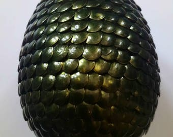 Green colour dragon egg