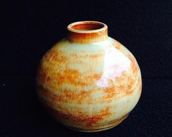 Stout Two-Color Vase