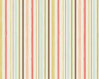 Riley Blake Woodland Stripe Cream