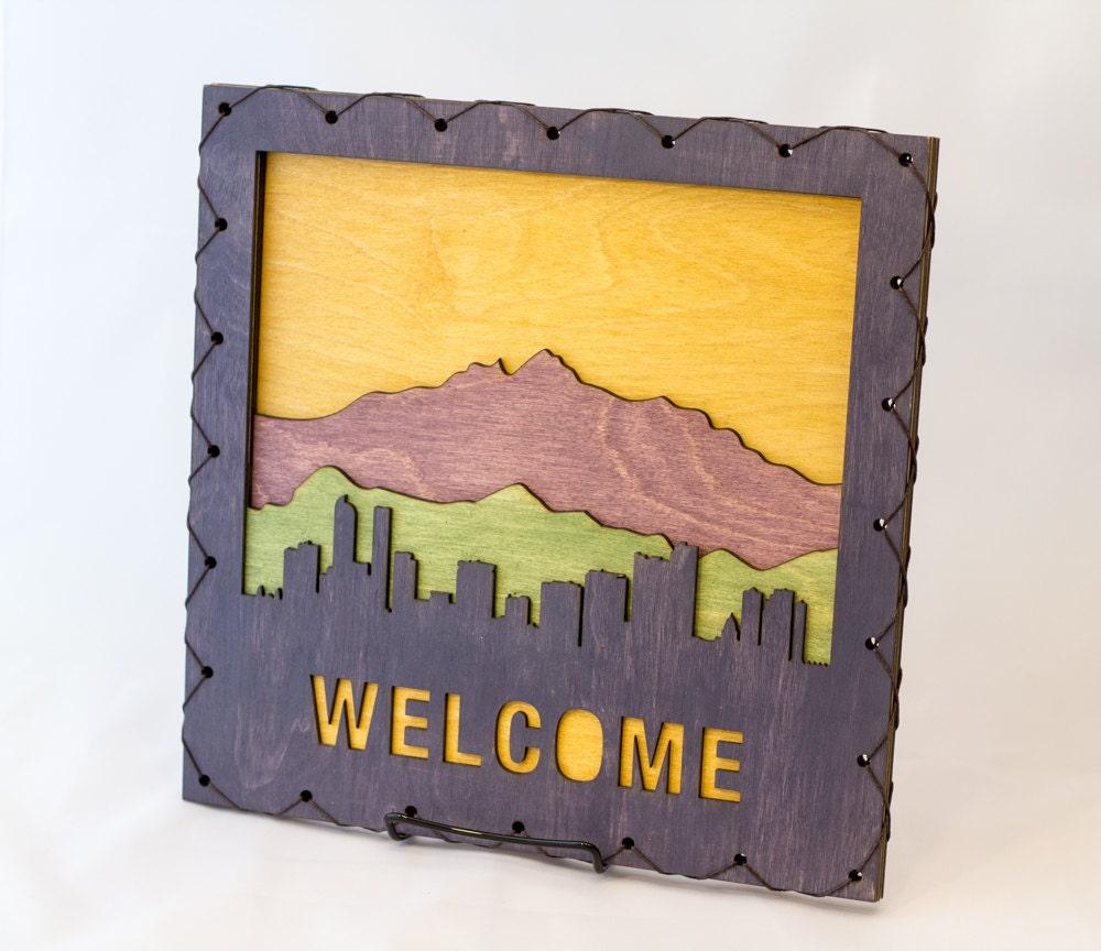 Denver Welcome Sign