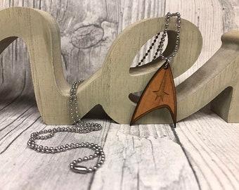 Star Trek Starflett Insignia necklace