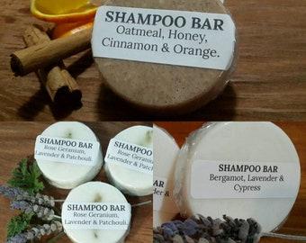 Lot of 3 Mixed Shampoo Bars.