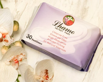 Herbal Panty liners, Herbal Pad, Natural Herbal Essence, Light Flow