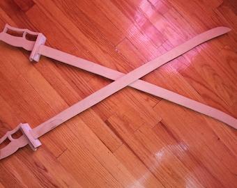 Unfinished or Customized Katana Ninja Sword