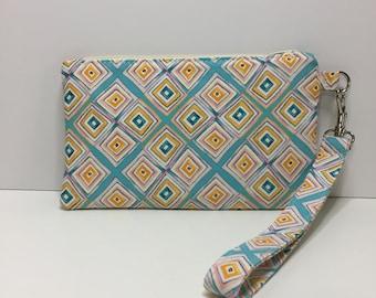 Notions bag, Notions pouch, zipper bag, bag, wristlet, clutc