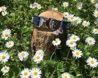 """Hundehalsband """"Bayerische Alpenblumen"""""""